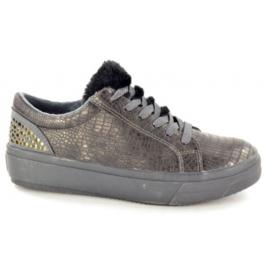 Fabs Sneaker Grijs Metallic 470301