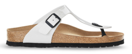 Birkenstock Gizeh Teen Slipper Wit Lak 543761