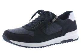 Rieker Heren Sneaker Donkerblauw 16121