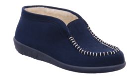 Rohde Dames Pantoffel Blauw 2176.56