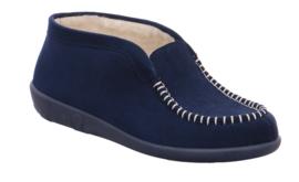 Rohde Dames Pantoffel Blauw 2176.56