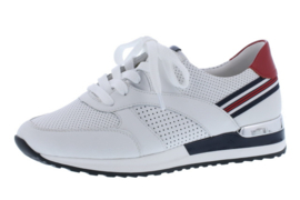 Remonte Sneaker Wit/Rood/Blauw R2525