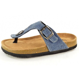 Bio Rock Kinder Teenslipper Jeans 641226