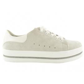 Fabs Sneaker Grijs Nubuck 61005