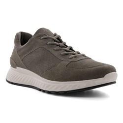 Ecco Heren Sneaker Donker Taupe 835314