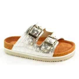 Bio Rock Kinder Slipper Zilver T20004