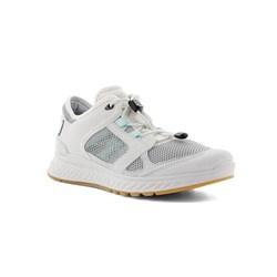 Ecco Dames Sneaker Ecru Bewerkt 835323