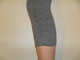 Dames Legging 7/8 Grijs met Knoopjes Re-Legs 50120