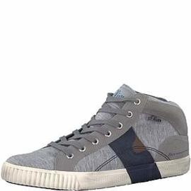 s'Oliver Heren Hoge Sneaker Grijs 15202