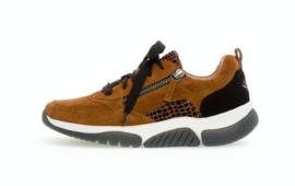 Gabor Sneaker Cognac /Zwart 56.938.32