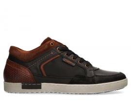 Australian Hoge Sneaker Antrim Zwart/Bruin 15.1373