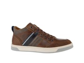 Gaastra Heren Hoge Sneaker Cognac 442702