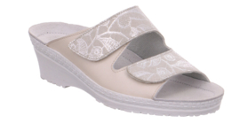 Rohde Dames Slipper Ecru 1466.12