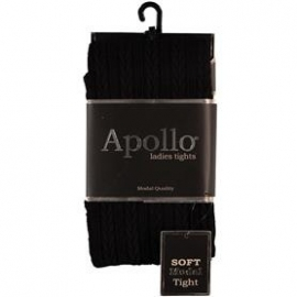 Dames Maillot (Kabel) Zwart Apollo 116285