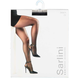 Sarlini Panty 20 denier Zwart