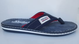 Rieker Heren Teenslipper Blauw 21089