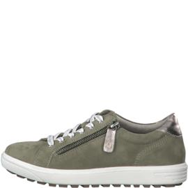 Jana Sneaker Groen 23611