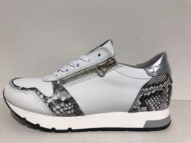 Piedi Nudi Sneaker Wit met Print 963101