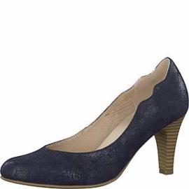 Caprice Dames Pump Blauw Nubuck 22406