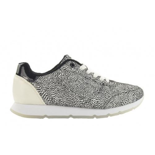 Fabs Sneaker Zwart/Wit F61211