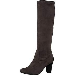 Caprice Dames Stretch Laars Taupe/Grijs 25510
