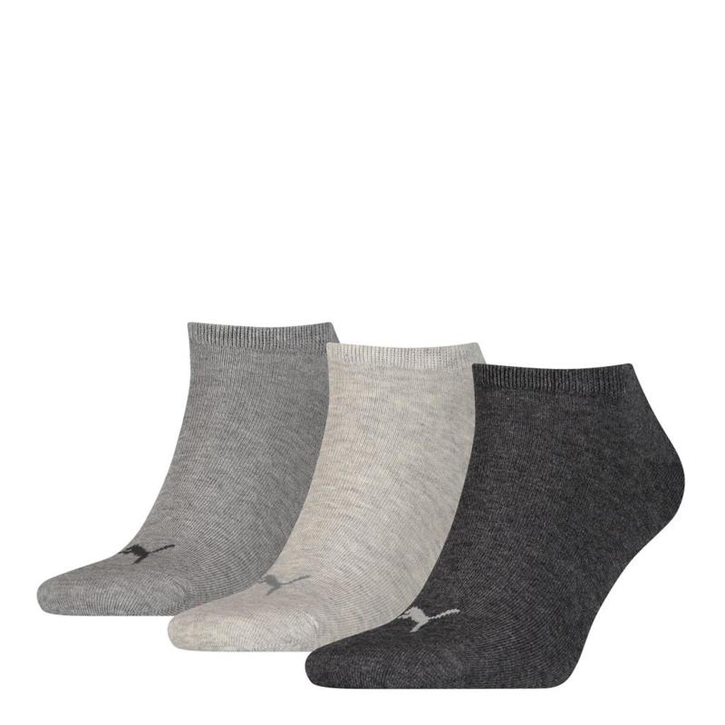 Puma Sneaker Sokken Grijs Combi 3-pack 261080.800