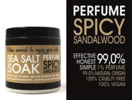 SEA SALT - SPICY SANDALWOOD 250 gram