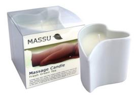 Massu Massagekaars Fresh Green Tea - 150 gr