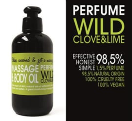 MASSAGE EN BODY OLIE - WILD CLOVE & LIME 200 ml
