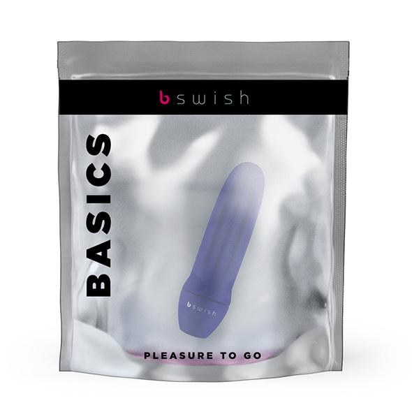 BMINE BASIC BULLET VIBRATOR BLAUW - BSWISH