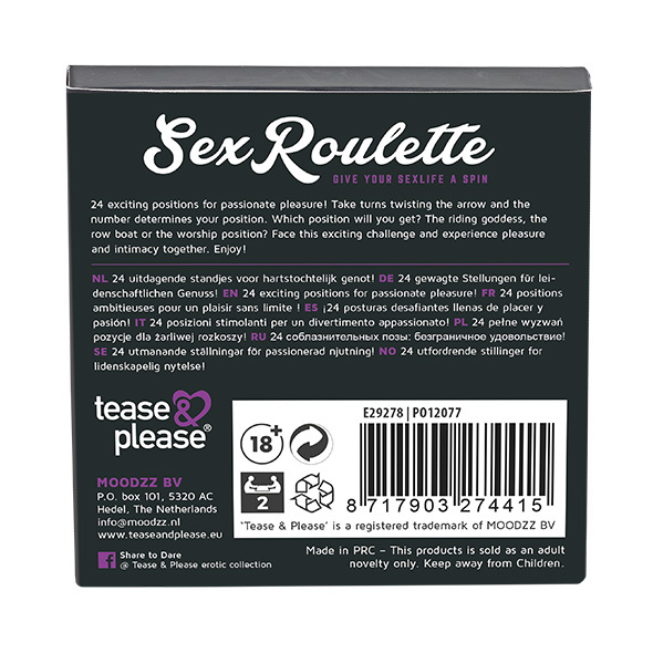 SEX ROULETTE KAMASUTRA