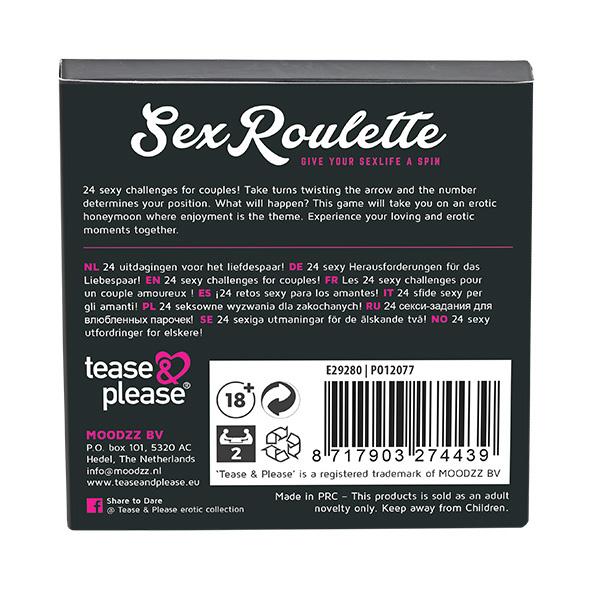 SEX ROULETTE LOVE & MARRIAGE - TEASE EN PLEASE