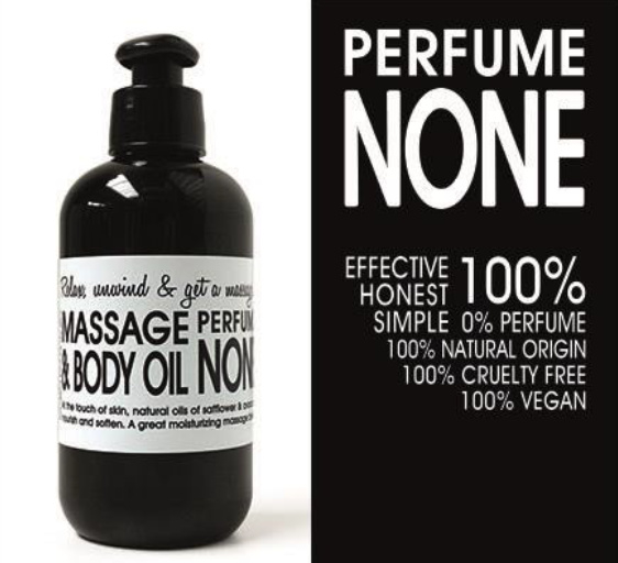 MASSAGE EN BODY OLIE - NONE (zonder parfum) 200 ml