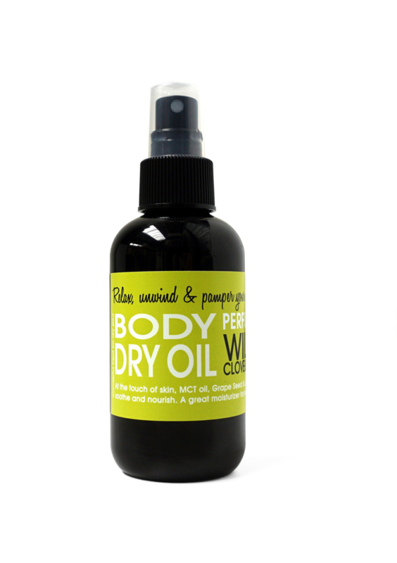 DRY OIL SPRAY - WILD CLOVE & LIME 150 ml