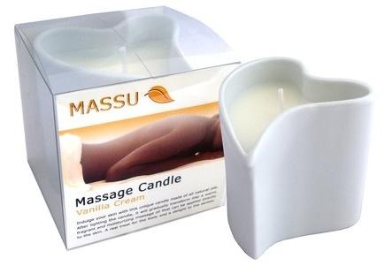 Massu Massagekaars VANILLA CREAM - 150 gr