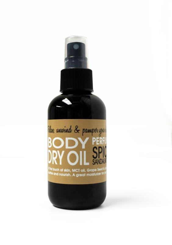 DRY OIL SPRAY - SPICY SANDALWOOD 150 ml