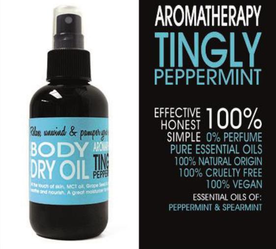 DRY OIL SPRAY - TINGLY MINT 150 ml