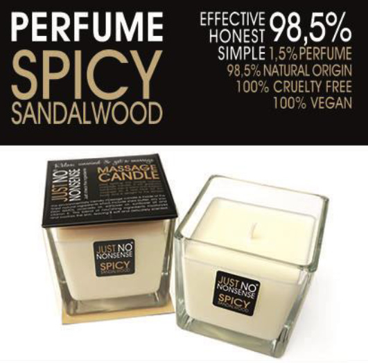 MASSAGEKAARS - SPICY SANDALWOOD 200