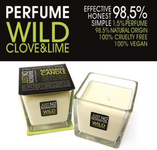 MASSAGEKAARS - WILD CLOVE & LIME 200 ml