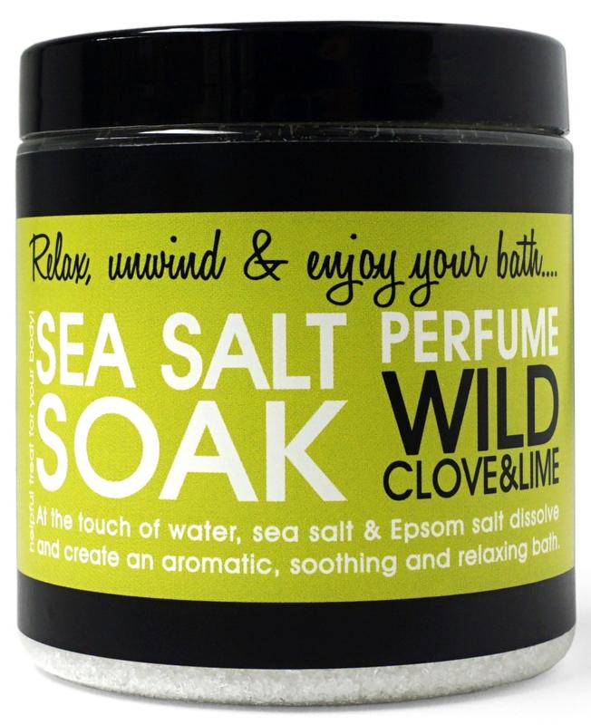 SEA SALT - WILD CLOVE & LIME 250 gram