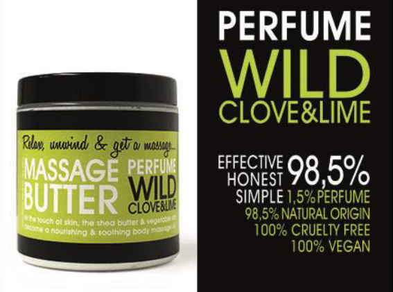 BODY BUTTER - WILD CLOVE & LIME 150 ml