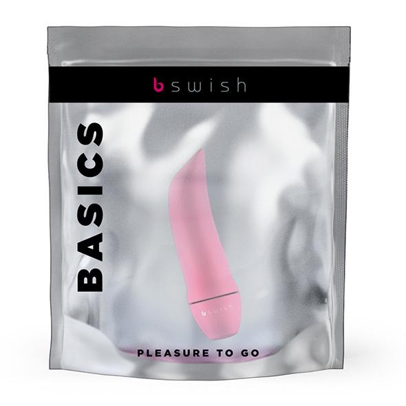 BMINE BASIC CURVE BULLET VIBRATOR LICHT ROZE - BSWISH
