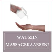 Wat zijn massagekaarsen