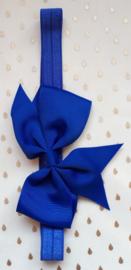 Haarband Baby Strik blauw