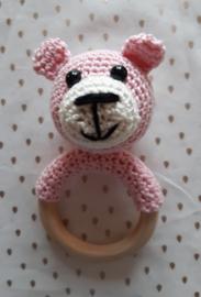 Rammel/bijtringbeer,Licht roze