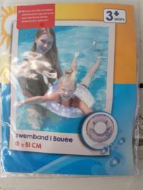Lila zwemband