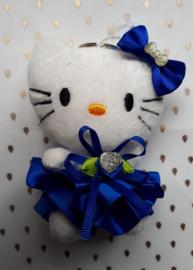 Hello kitty, blauw
