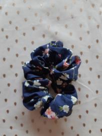 Scrunchie, blauw