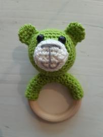 Rammel/bijtring beer, appel groen