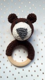 Rammel/bijtring beer, bruin